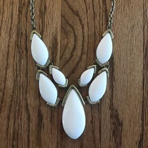 Premier Gold / White Necklace - Never Worn